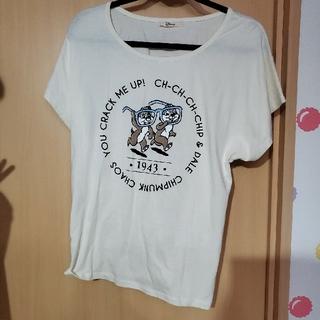 チップアンドデール(チップ&デール)のチップとデール トップス 半袖(Tシャツ(半袖/袖なし))