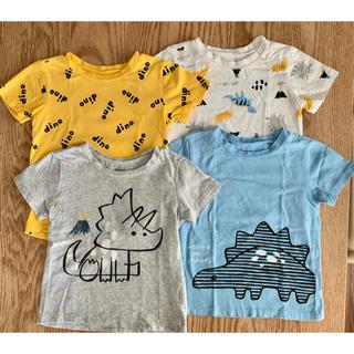 コストコ(コストコ)のPeKKLe Tシャツ 恐竜  4枚 36M(Tシャツ/カットソー)