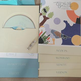 SEVENTEEN セブチ アルバム ヘンガレ DUL 開封済み ヒポチ(K-POP/アジア)