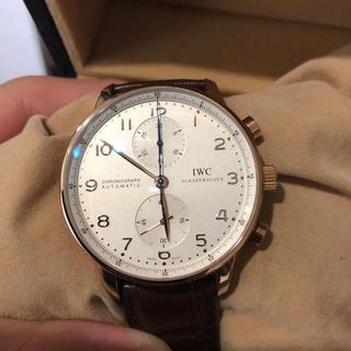 インターナショナルウォッチカンパニー(IWC)のIWC アイダブリューシー ポルトギーゼ レッドゴールドケース(腕時計(アナログ))