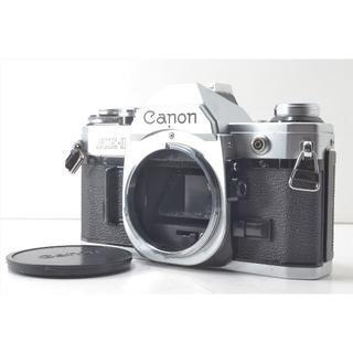 キヤノン(Canon)のCanon キャノン AE-1 シルバー ボディ シャッター鳴きなし 清掃済 (フィルムカメラ)