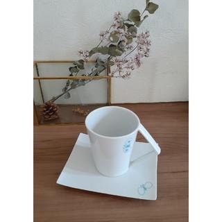 ミナペルホネン(mina perhonen)のミナペルホネン ku カップ&ソーサー ブルー(食器)