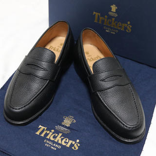 トリッカーズ(Trickers)のTricker's (トリッカーズ)× Aquascutum ローファー 革靴(ドレス/ビジネス)