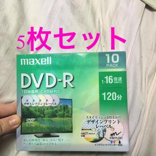 マクセル(maxell)のmaxell DVD-R 5枚セット(PC周辺機器)