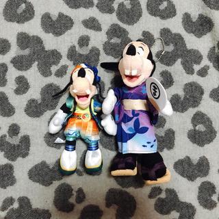 ディズニー(Disney)のマックス グーフィー ぬいぐるみバッジ(キャラクターグッズ)