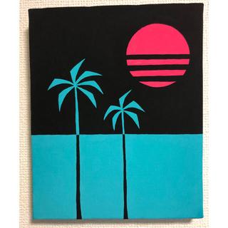 ロンハーマン(Ron Herman)の絵画 アクリル画 現代アート インテリア(絵画/タペストリー)
