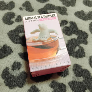 アニマル茶こし ホッキョクグマ(食器)