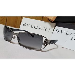 ブルガリ(BVLGARI)の正規新古レア ガクト着 ブルガリ アストラーレサングラス 黒 同型同色 付属完備(サングラス/メガネ)