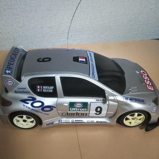 NIKKO(ニッコー)のラジコンカー(PEUGEOT  206 WRC) エンタメ/ホビーのおもちゃ/ぬいぐるみ(ホビーラジコン)の商品写真
