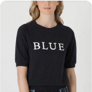 ブラックレーベルクレストブリッジ(BLACK LABEL CRESTBRIDGE)のブルーレーベルクレストブリッジ BLUEロゴトップス(カットソー(半袖/袖なし))