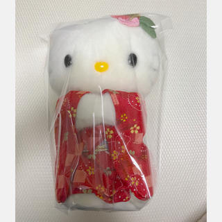 サンリオ(サンリオ)の美品❤️ハローキティ 京都限定品 ぬいぐるみ(ぬいぐるみ/人形)