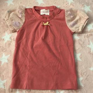 フェフェ(fafa)のパンパンチュチュ  90 パフスリーブTシャツ(Tシャツ/カットソー)