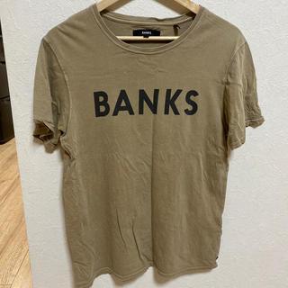 ロンハーマン(Ron Herman)のBANKS banks TEE Tシャツ ベージュ(Tシャツ/カットソー(半袖/袖なし))