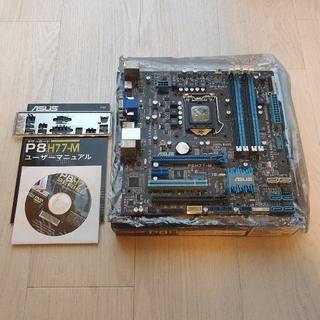 エイスース(ASUS)のマザーボード P8 H77-M ジャンク(PCパーツ)