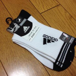 アディダス(adidas)の新品☆アディダス 靴下 23cm(靴下/タイツ)
