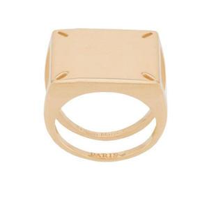 マルタンマルジェラ(Maison Martin Margiela)の新品未使用マルジェラ 4ステッチ リング 指輪(リング(指輪))