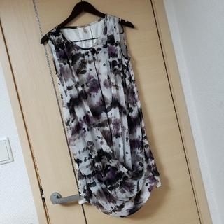 オリゾンティー(ORIZZONTI)の美品 ORIZZONTI MUIR ミュア ワンピース ドレス(ひざ丈ワンピース)