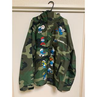 シュプリーム(Supreme)のSupreme Smurf GORE-TEX Shell Jacket Sサイズ(ナイロンジャケット)