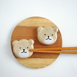 くま 箸置きセット(テーブル用品)