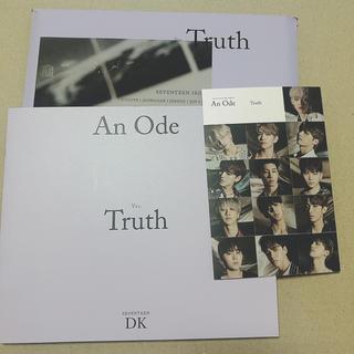SEVENTEEN セブチ アルバム An Ode Truth(K-POP/アジア)