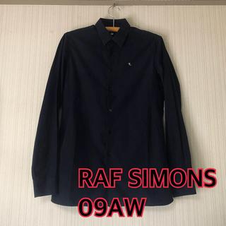 ラフシモンズ(RAF SIMONS)の【激レア】RAF SIMONS 09AW 46 ブルーグレー【アーカイブ】(シャツ)
