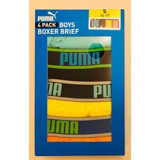 PUMA - 新品未使用 プーマ ボクサーパンツ 6〜7歳 4枚セット
