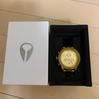 ニクソン(NIXON)のNIXON ゴールド時計(腕時計(アナログ))