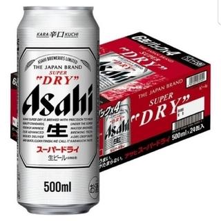 アサヒ(アサヒ)の【送料無料!】アサヒスーパードライ500ml×24缶 (ビール)