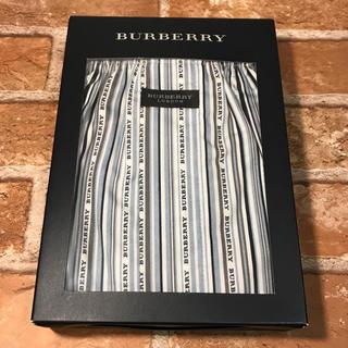 バーバリー(BURBERRY)のBURBERRY LONDON バーバリー ロゴ ストライプ トランクス M(トランクス)