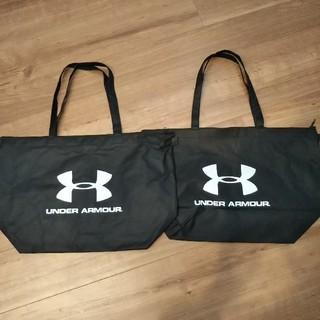 アンダーアーマー(UNDER ARMOUR)のアンダーアーマー 手提げ袋 ショップ袋 2枚セット(ショップ袋)