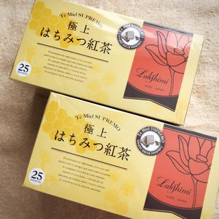 極上はちみつ紅茶 ラクシュミー 25ティーバッグ×2箱(茶)