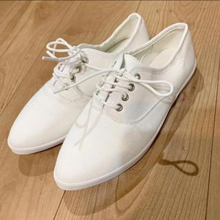 グレイル(GRL)の白いスニーカー(スニーカー)