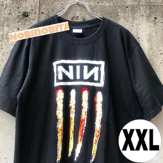 フィアオブゴッド(FEAR OF GOD)の黒XXL)半袖 Nine inch nails  NIN ロックT(Tシャツ/カットソー(半袖/袖なし))