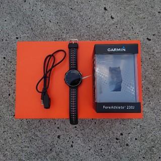 ガーミン(GARMIN)のGARMIN ForeAthlete 230J ガーミン ランニング(腕時計(デジタル))