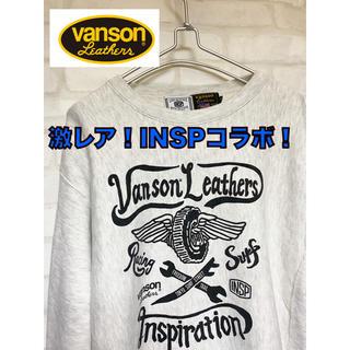 VANSON - 激レア!vanson バンソン インスピ コラボ スウェット トレーナー