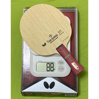 バタフライ(BUTTERFLY)の新品 未使用 アポロニア ZLC FL 88g バタフライ 卓球 ラケット 軽量(卓球)