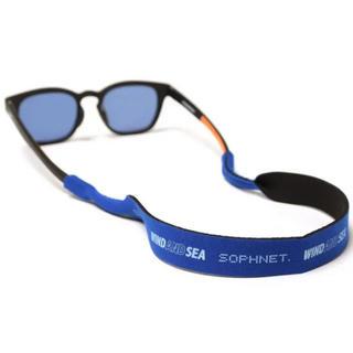 ソフ(SOPH)の【ブルー】SOPHNET. × WIND AND SEA サングラスホルダー(サングラス/メガネ)