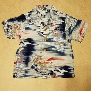 エムピーエス(MPS)のMPS キッズ 和柄シャツ サイズ100(Tシャツ/カットソー)