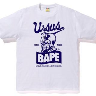 アベイシングエイプ(A BATHING APE)の未開封 XXL URSUS BAPE TRADE MARK TEE WHITE(Tシャツ/カットソー(半袖/袖なし))