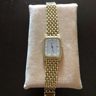 グランドセイコー(Grand Seiko)のスイス宝飾時計 金無垢ROBERGEロベルジェ時計 紳士用 重さ68g(腕時計(アナログ))
