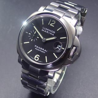 パネライ(PANERAI)の国内正規品 超希少 美品 L番 パネライ PAM00333 40㎜ チタン (腕時計(アナログ))