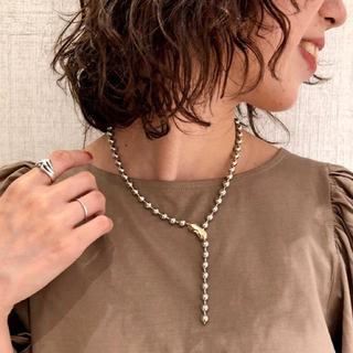 ミスティック(mystic)の即日発送 Lara Ball necklace ボールネックレス mystic(ネックレス)