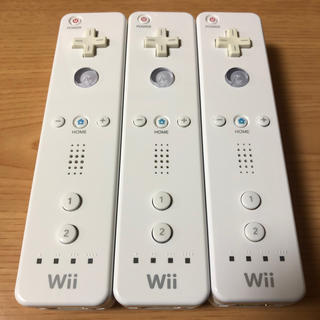 Wii - 任天堂Wiiリモコン ホワイト3本セット
