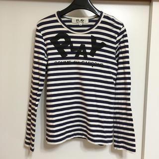 コムデギャルソン(COMME des GARCONS)のPLAY COMMEdesGARCONS カットソー(Tシャツ(長袖/七分))