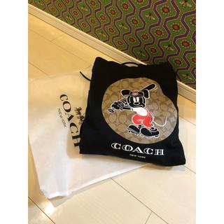 コーチ(COACH)のDISNEY X COACH ミッキーマウス  フーディー L size(パーカー)