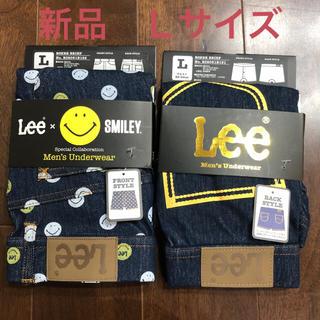 リー(Lee)のLEE ボクサーブリーフパンツ 2枚組 正規品 Lサイズ 新品タグ付 最終値下げ(ボクサーパンツ)