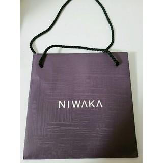 ニワカ(俄)のNIWAKA ショッパー(ショップ袋)
