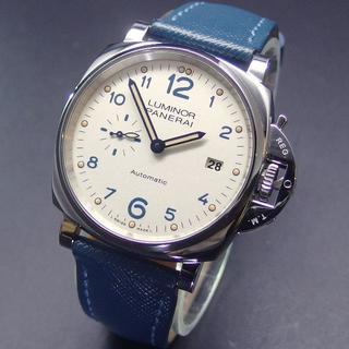 パネライ(PANERAI)の新品同様 2019年モデル パネライ PAM00906 ルミノールドゥエ (腕時計(アナログ))