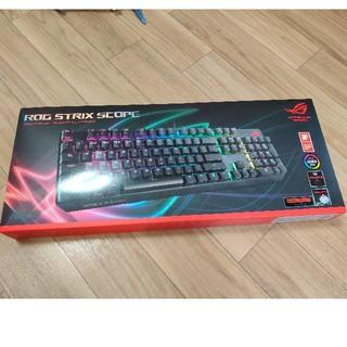 エイスース(ASUS)のASUS ゲーミングキーボード XA02 ROG STRIX SCOPE/RD(PC周辺機器)