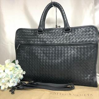 ボッテガヴェネタ(Bottega Veneta)のボッテガヴェネタ ビジネスバッグ 2way 黒 美品★(ビジネスバッグ)